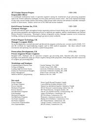 Clean Resume Template Inspiration Clean Project Engineer Resume Template Page 48 Sample Project