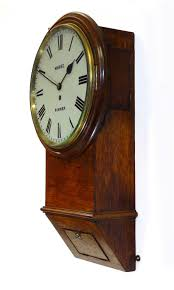 antique fusee dial wall clocks