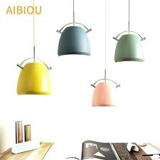 colorful pendant lights hanging light lamp colorful pendant lights designer led for dining lamp bar light