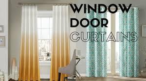 beautiful door and window curtains ideas