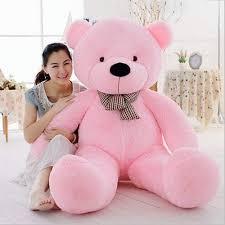 bunco cute pink teddy bear 90cm soft