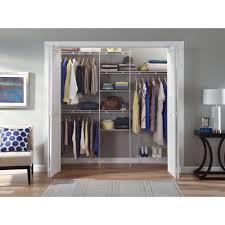 closet maid simple one closet maid closet organizer kit with shoe shelf 5