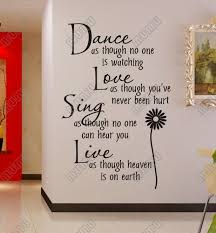 wall art sayings dance as though no one is watching vinyl wall lettering stickers quotes and sayings home art on adhesive wall art sayings with wall art designs wall art sayings dance as though no one is
