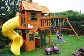 Small Backyard Playsets Design