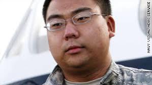 navy reserve intelligence specialist 3rd class bryan minkyu martin was taken into custody wednesday on suspicion navy intelligence specialist