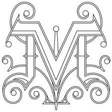 design letter 72 best letter m images on pinterest monograms letters and writing
