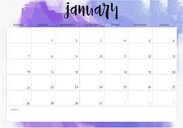 Desk Calendar Printable January 2019 Desk Calendar Printable Template Planner