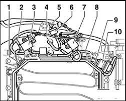 repair guides vacuum diagrams vacuum diagrams com vw passat 2 8l vacuum connections top view