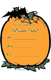 Word Halloween Templates Unique Halloween Invitation Templates Word And Halloween Party