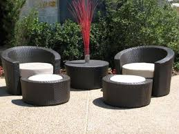 affordable outdoor furniture outdoor black modern stained wooden bistro seat affordable patio sets furniture