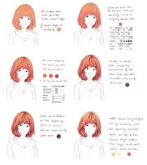 Hair Coloring Tutorial By Hiba Tan On Deviantart