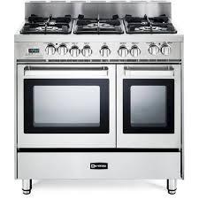 36 gas range double oven. Beautiful Gas Verona 36 Inch ProStyle DualFuel Double Oven Range And Gas G