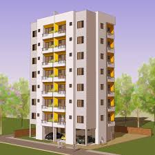 apartment building design.  Design Area U003d 866 SqFt Plot Size 80 Ft X Picture  Apartment Building Design 3005 Intended R