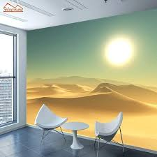 wallpapers for office. Wallpaper Office Large Custom Wallpapers Living Room Desert Sunset Abstract Landscape Home Bedroom For