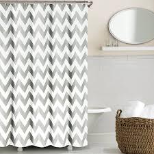 grey chevron shower curtains. Beautiful Grey Amazoncom Echelon Home Chevron Shower Curtain Feather Grey U0026  Kitchen Throughout Grey Curtains Amazoncom