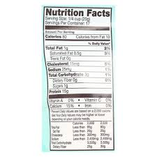 Green Mill Nutrition Chart Bobs Red Mill Whey Protein Powder 12 Oz Case Of 4