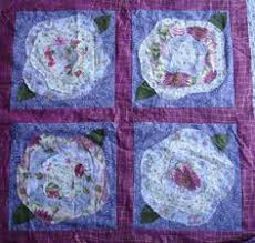 french roses quilt pattern   Sew and Tell – Baby French Roses 2 ... & french roses quilt pattern   Blue Starr Gallery: French Roses Quilt Adamdwight.com