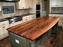reclaimed wood countertops cost kitchen butcher block wood island wood countertops cost