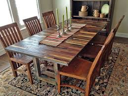 reclaimed wood dining table top rustic wood dining room table incredible handmade wooden dining tables