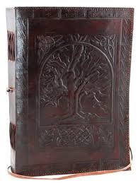azuregreen tree of life leather w cord