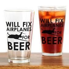 aviation beer gl set