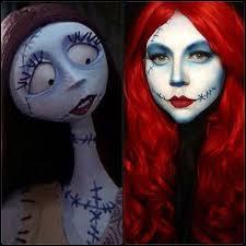 nightmare before sally makeup inspiration created using sugarpill cosmetics beserk au sugarpill nightmarebefore nbc sally