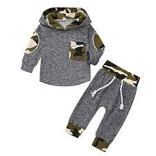 <b>2PCS Toddler Baby Baby</b> Dinosaur Print Clothes Set <b>Newborn</b> Boys ...