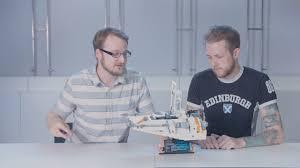 Lego Star Wars Designer Videos Lego Star Wars Ucs Snowspeeder 75144 Designer Video