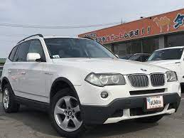 Original bmw sport rims, with new tyres. Japan Used Bmw X3 Aba Pc25 Suv 2008 For Sale 4050011