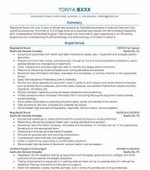 Rn Professional Resumes Best Registered Nurse Resume Example Livecareer