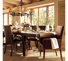 kitchen table round pottery barn kitchen tables 2 seats pine rustic chairs flooring carpet legs small concrete folding