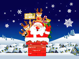 Funny Santa Claus Cartoon Pictures Christmas Images Merry