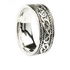 Wedding Rings Claddagh Wedding Ring Sets Celtic Knot Wedding