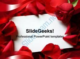 Wedding Powerpoint Template Stunning Red Roses Wedding PowerPoint Template 44 Templates PowerPoint