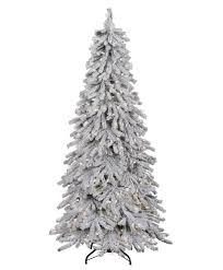 Flocked Christmas Tree Flocked Alpine Spruce Christmas Tree Tree Classics