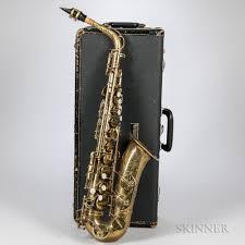 alto saxophone selmer mark vi 1965