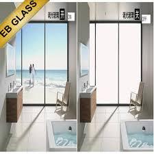 bathroom window switchable
