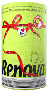 <b>Полотенца бумажные Renova Red</b> Label Green двухслойные ...