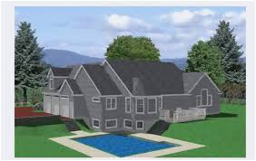 fresh sloped lot house plans walkout basement best modern house plans for selection lakefront house plans sloping lot