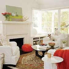 white airy home office. Living Room Makeovers White Airy Home Office A