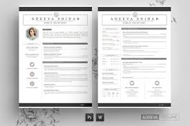 Modern Word Resume Template Resume Templates Modern Resume Template Psd Ms Word