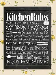 retro shabby chic kitchen rules