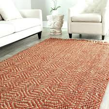 4x6 area rugs 4 x 6 rug square red cream hexagonal pattern classic interesting magnificent sisal 4x6 area rugs