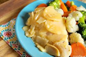 crock pot scalloped potatoes and