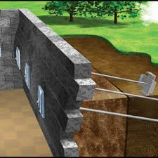 wall stabilization for concrete or