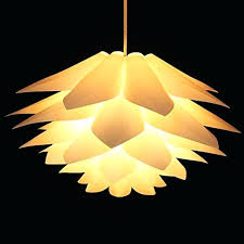 diy ceiling light cover creative lotus chandelier lamp c for home decor puzzle shade ceiling lights