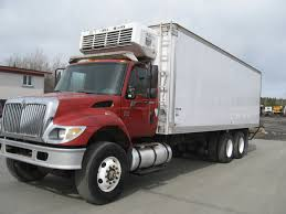 International 7400 Reefer Truck
