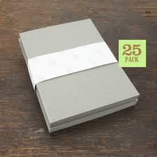 Blank Notecards With Envelope Size A2 Gray Cards And Envelopes