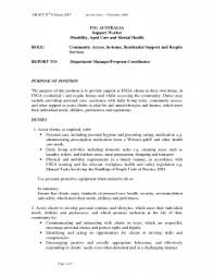 Ideas Of Resume Cover Letter Aged Care Sample Cover Letter For