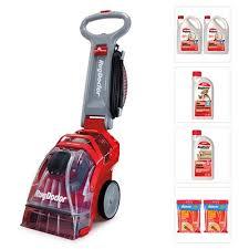 rug doctor upright carpet cleaner with 2x 2l carpet detergent 1l pet detergent 1l